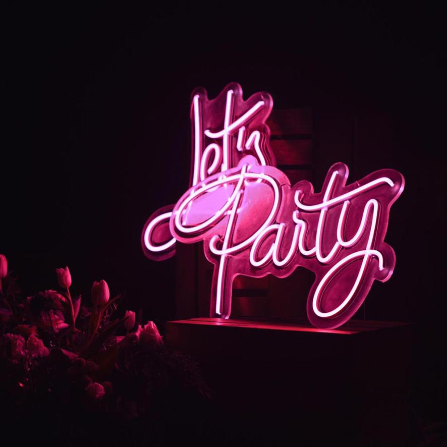 NEON LET'S PARTY